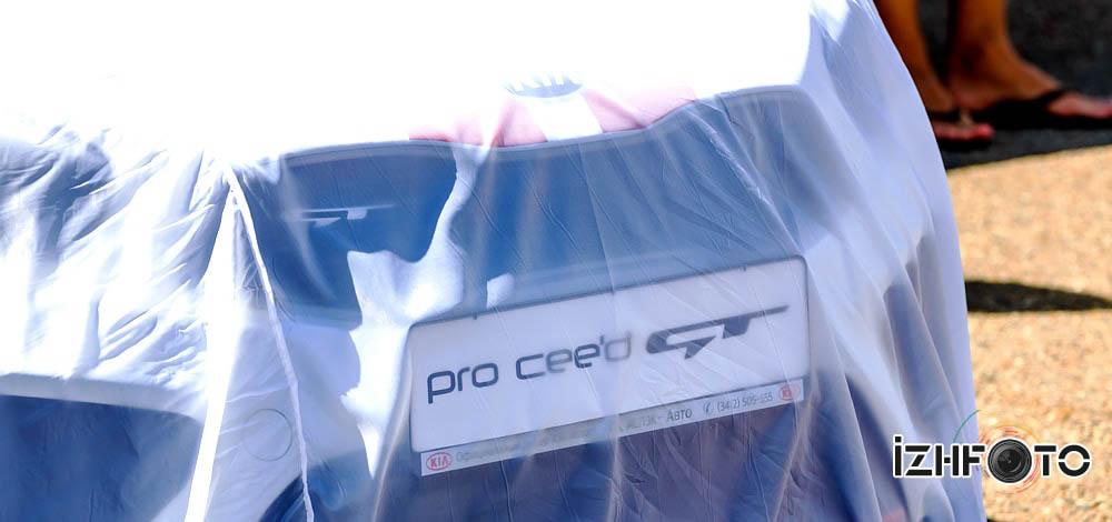 Презентация Kia Pro Ceed GT