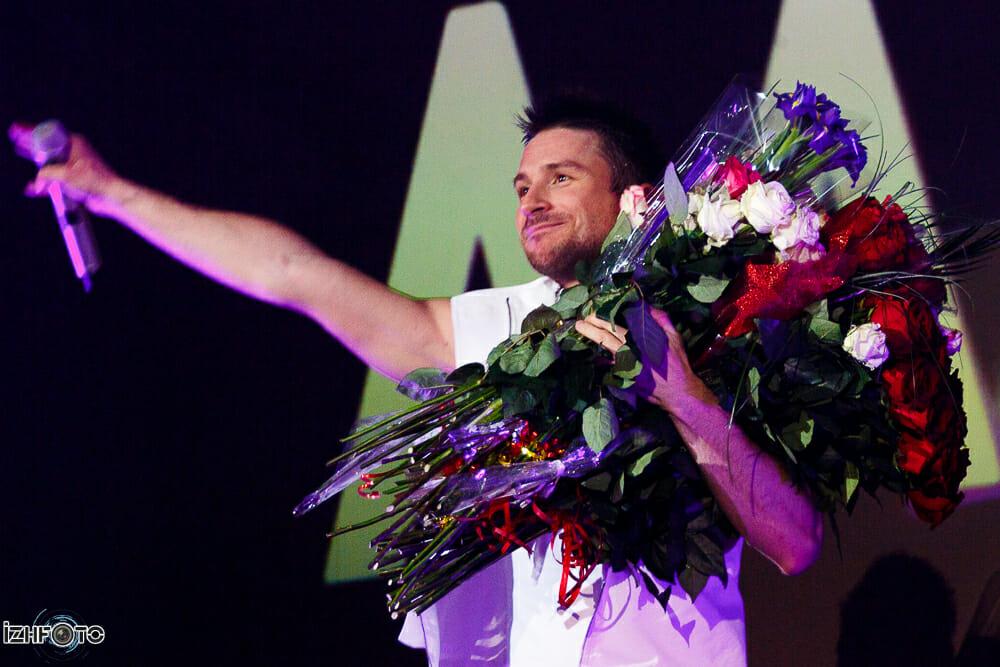 Фоторепортаж с концерта Сергея Лазарева в Ижевске