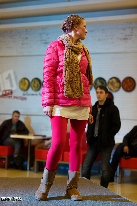 Модный показ на ярмаркофесте Арбери, Ижевск