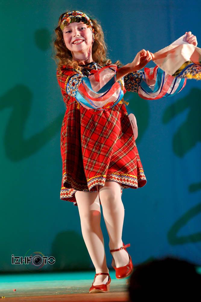 Дарина Суханова, 8 лет, снегурочка Удмуртии, Удмуртский танец