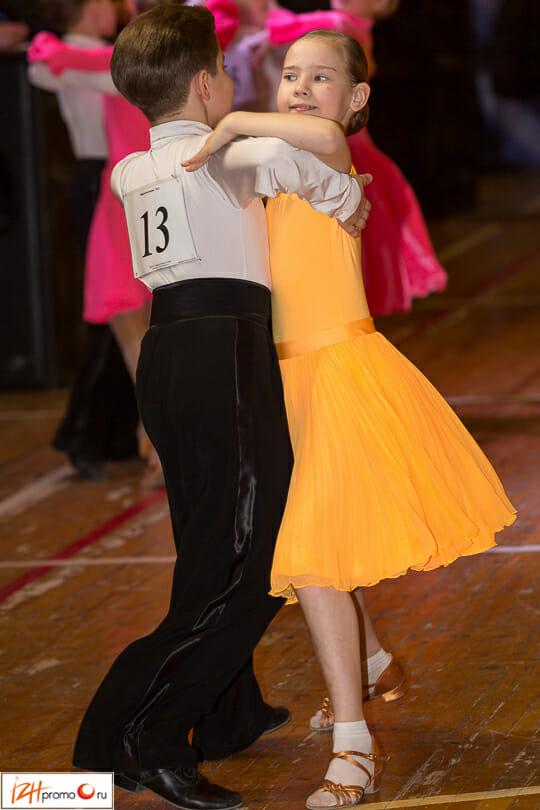 Открытый чемпионат Ижевска по спортивным танцам