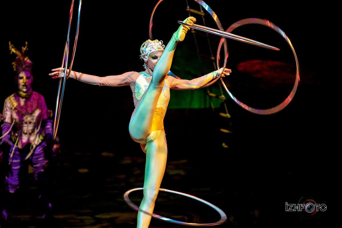 Цирк Дю Солей в Казани