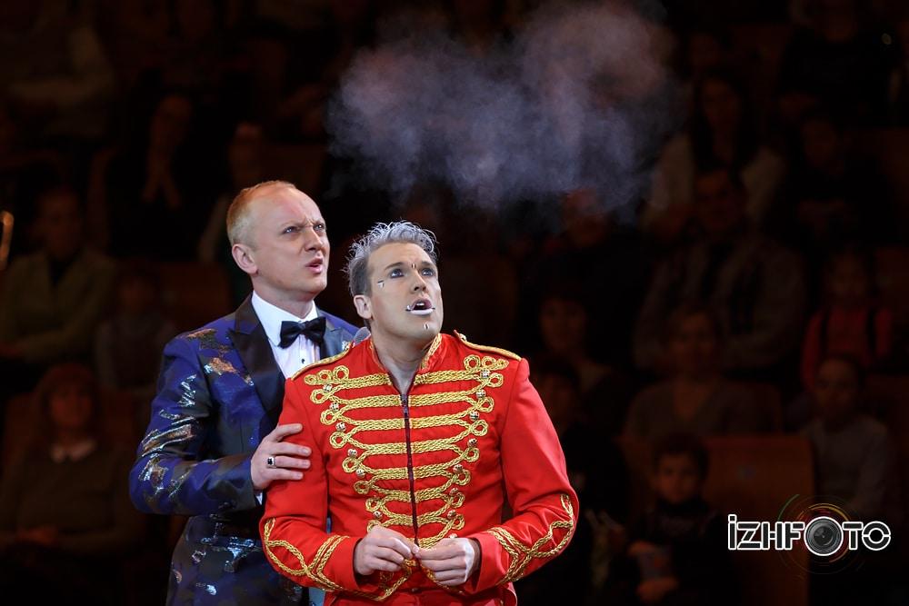Звезды европейских цирков Фото