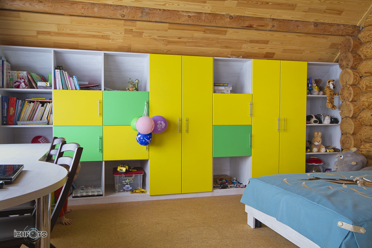 Стенка Найди для детской комнаты, Ижевск