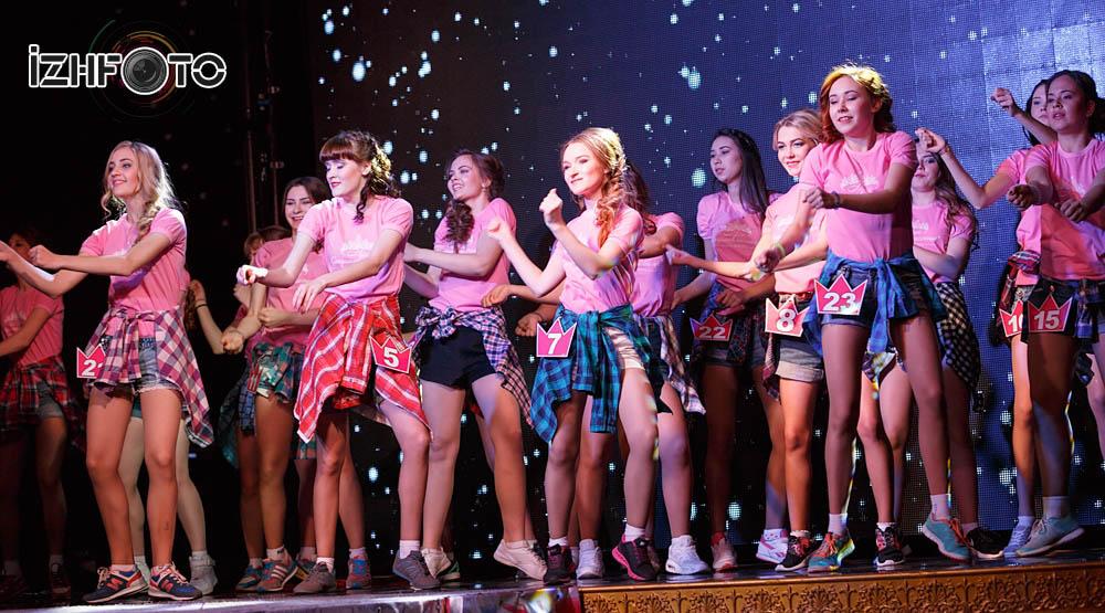 Общий танец в постановке Академии «NEXT»