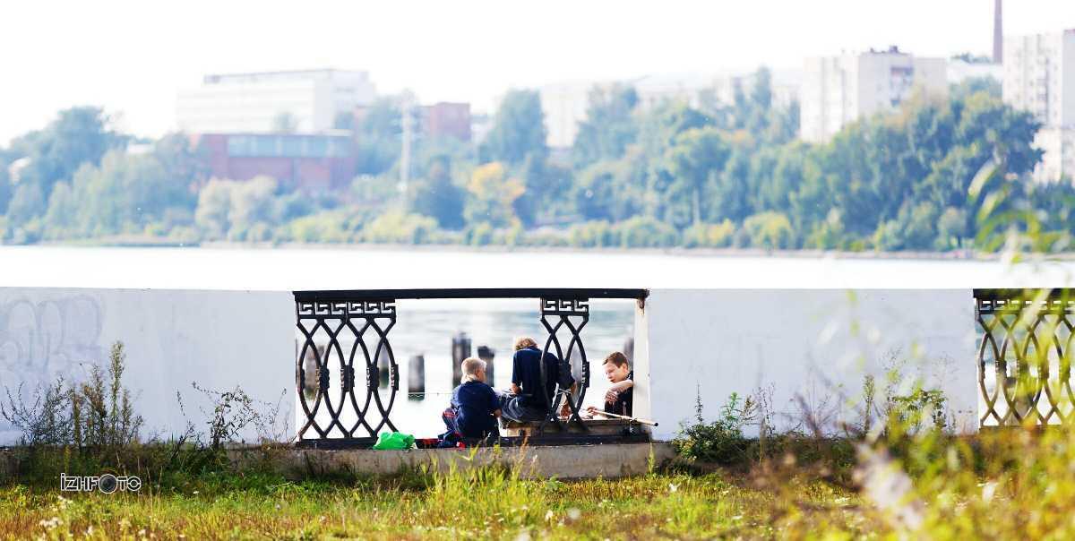 Фото ижевской набережной