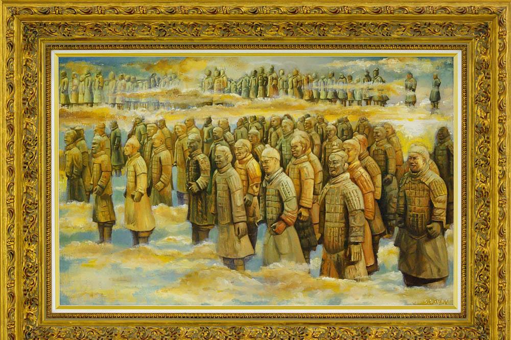 Выставка Никаса Сафронова Ижевск 2015