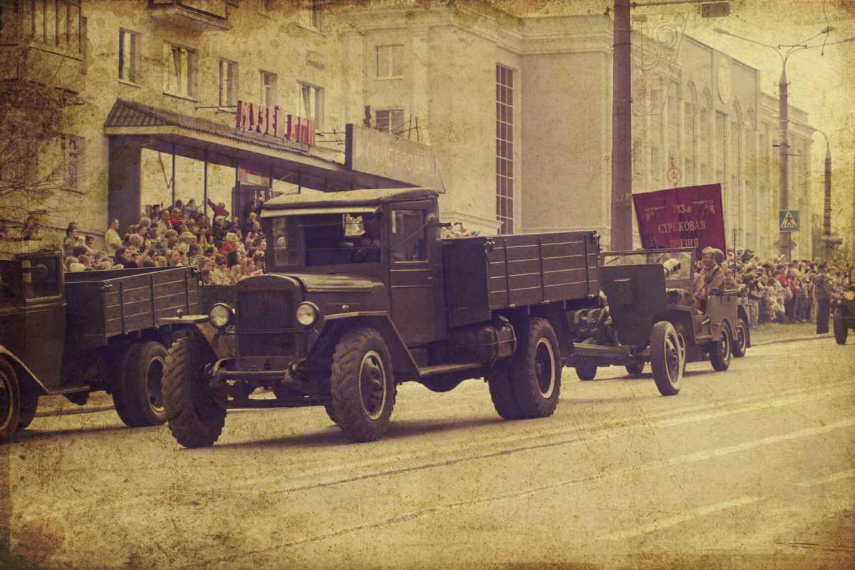 Празднование дня победы в Ижевске