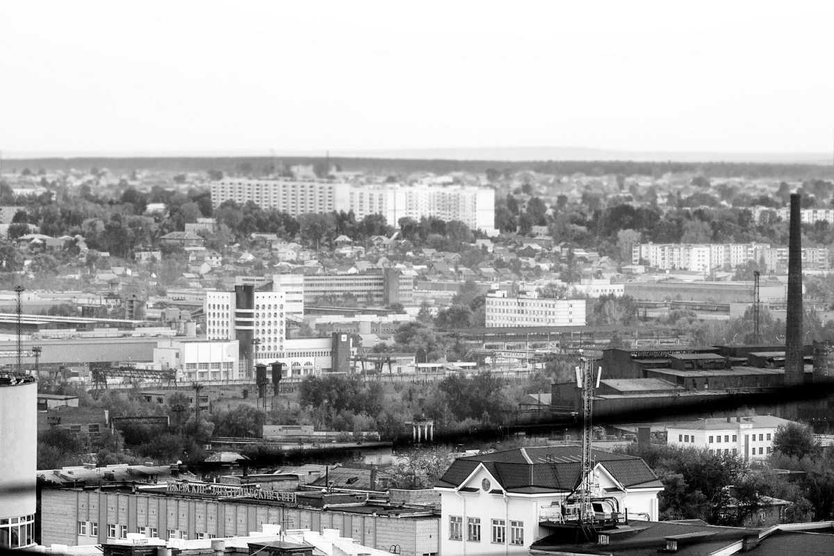 Район Зарека. Ижевск