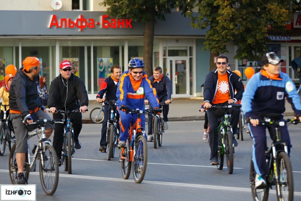 Рыжий велопарад 2013