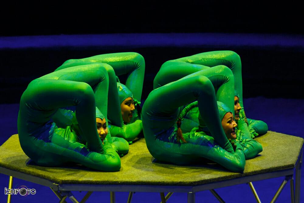 Выступление Snakes в Ижевском Цирке