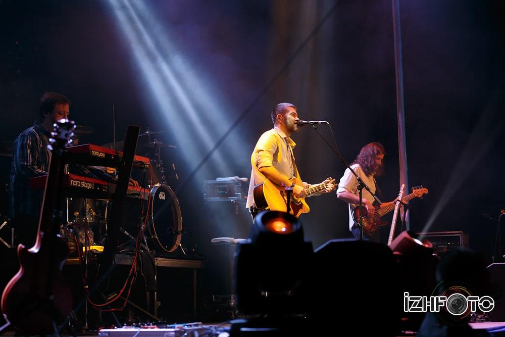 Концерт Сплин в Ижевске