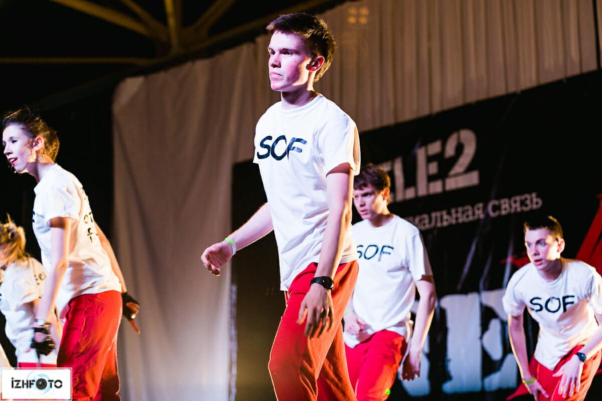 В фестивале принимали участие ученики и преподаватели Академии современного танца «Next»