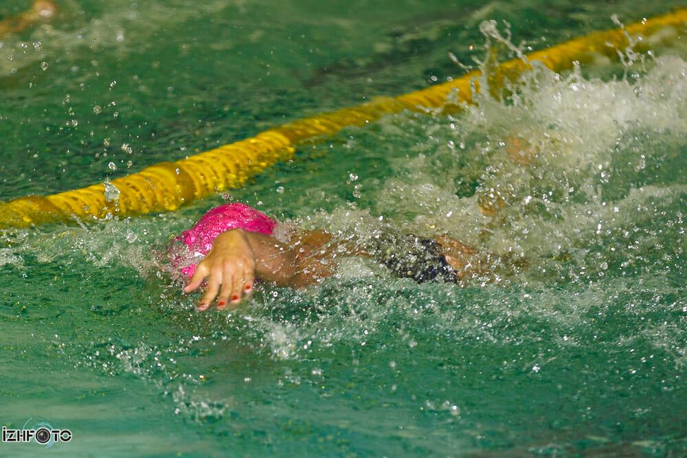 Чемпионат Удмуртии по плаванию, город Ижевск