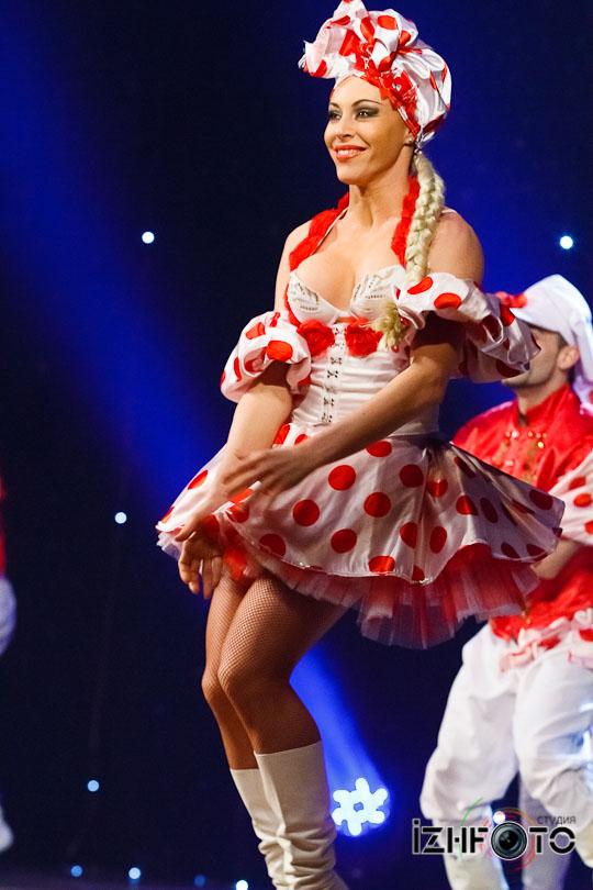 Шоу-балет Аллы Духовой Тодес в Ижевске