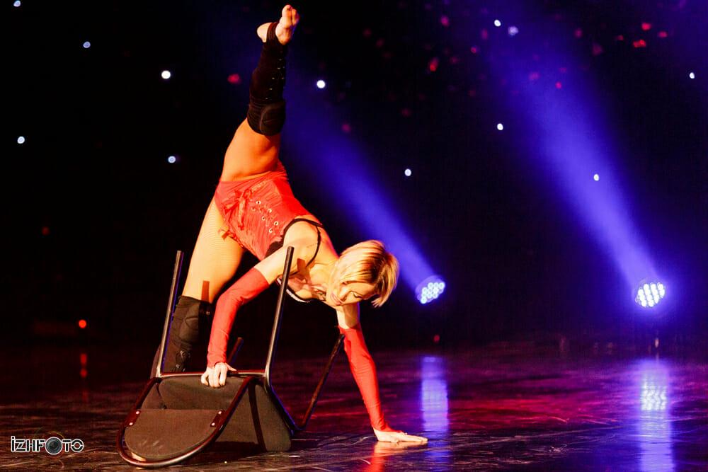 Фоторепортаж с выступления балета Тодес в Ижевске