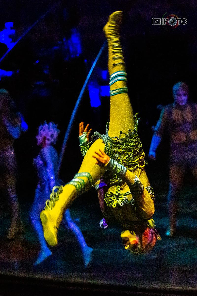 Фотографии с шоу Цирка Дю Солей