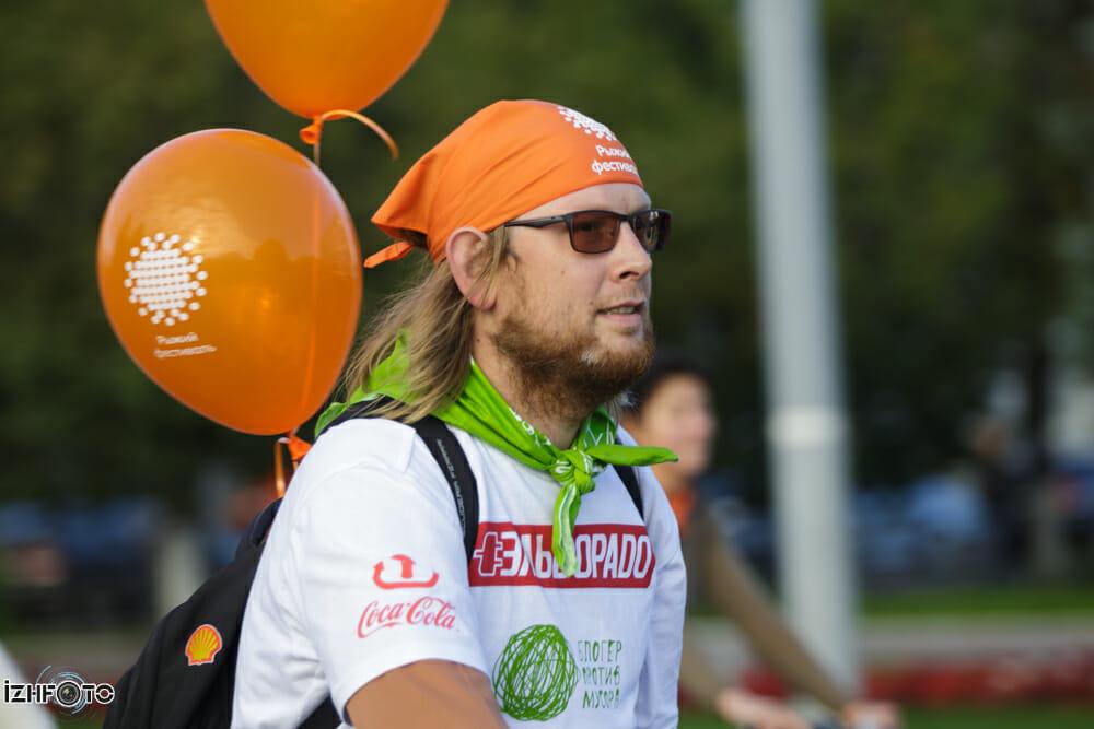 Рыжий фестиваль 2013. Велопарад