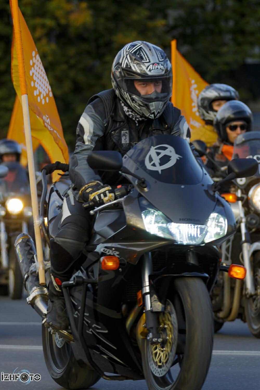 Мотоциклисты Ижевска