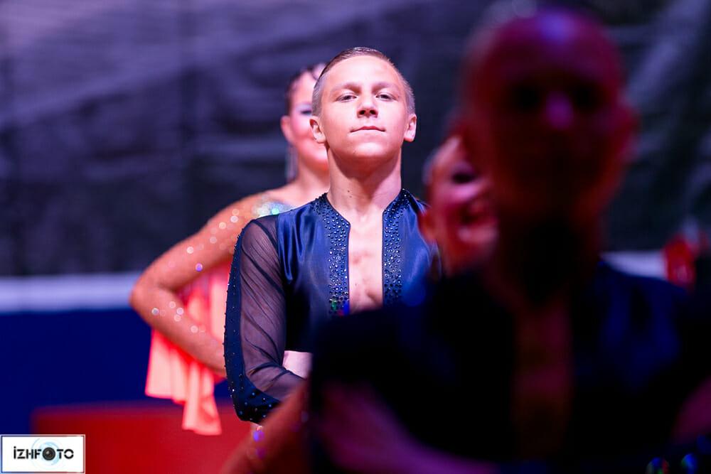 Международный турнир по бальным танцам в Ижевске - ансамбль Вера