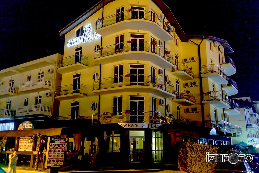 Отель Green Plaza Витязево Фото