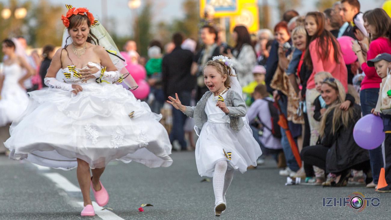 Забег Невест в Ижевске 2014