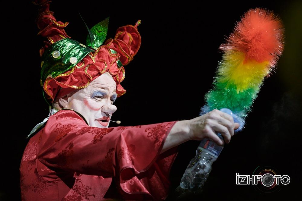 Phillipe Durand (Франция) в Цирке Ижевска