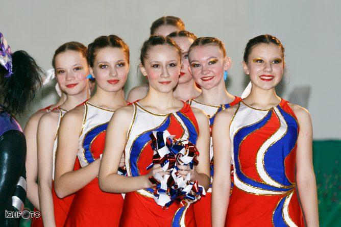 Первенство Ижевска по черлидингу 2014