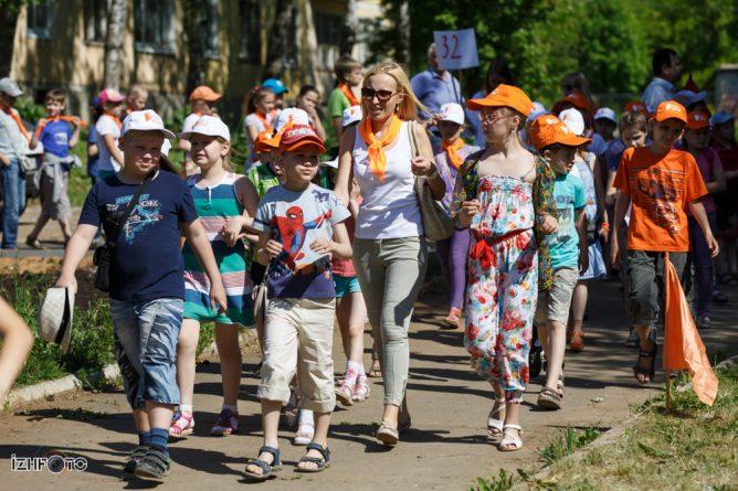Детский отдых летом в Ижевске 2014