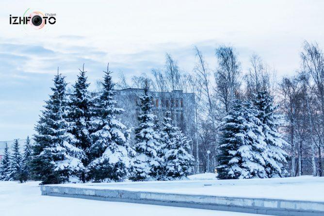 Зима Ижевск Фото