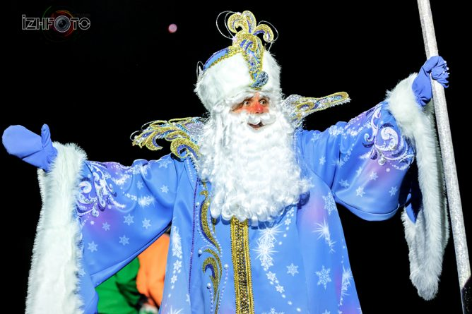 Новый год 2018 в Ижевске
