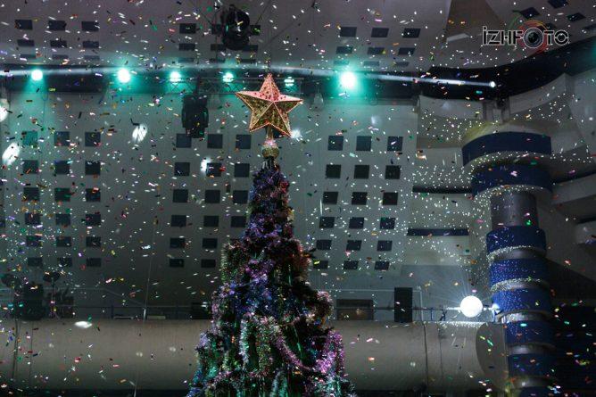 Новогодняя елка Ижевск 2018