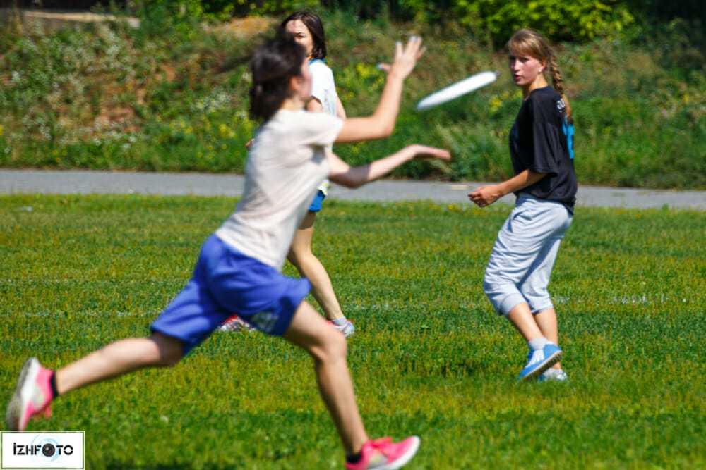 Ultimate Frisbee в Ижевске
