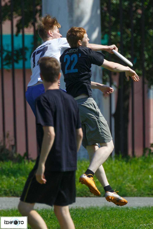 Тренировки по Ultimate Frisbee