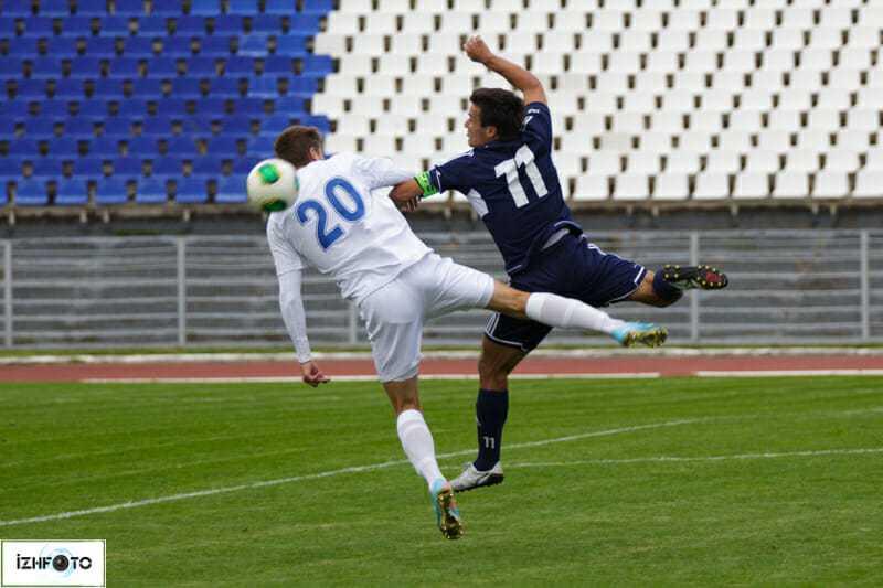 Футбольные матчи в Ижевске Фото