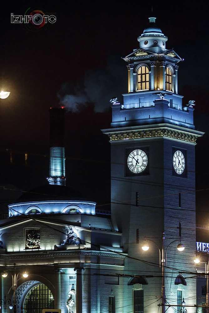Фото Киевский вокзал ночью