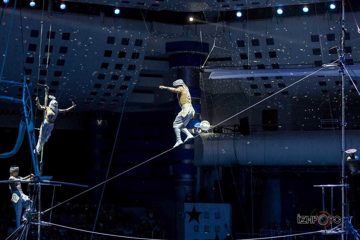 """Sirakan"", high wire led by Sirakan Suanbekhova, Russia"