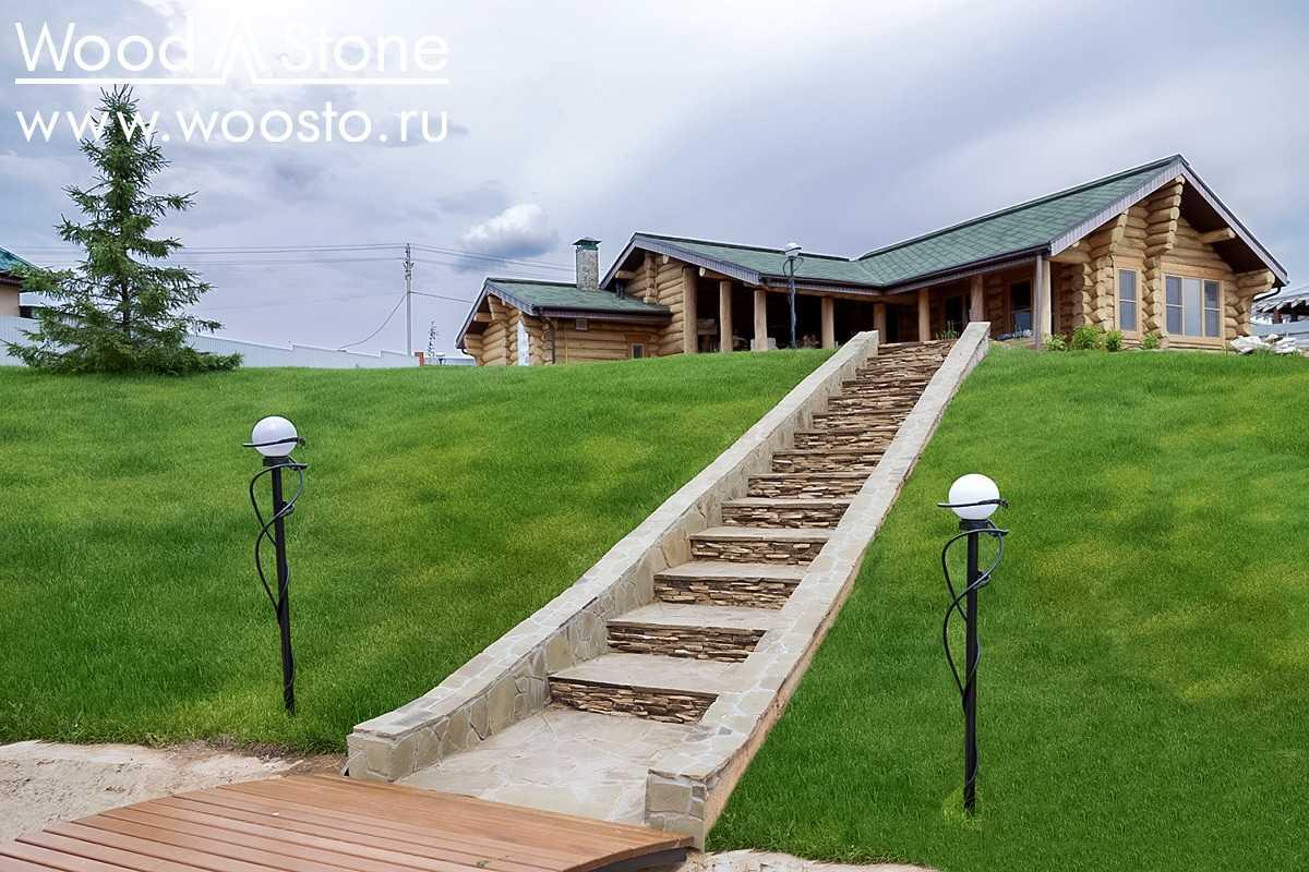Ландшафты компании Компания WoodStone Ижевск