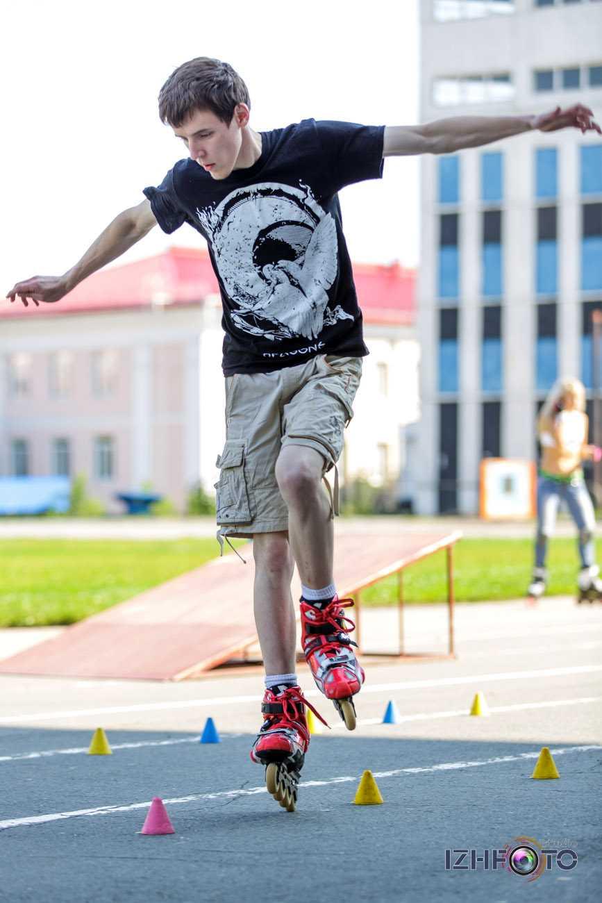 Фотографии с Кубка Удмуртии по роллер спорту