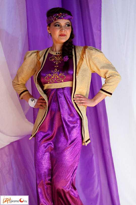 Национальный татарский костюм женский