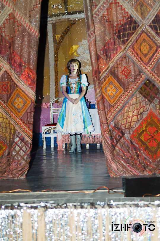 Генеральная репетиция в Театре оперы и балета, Ижевск