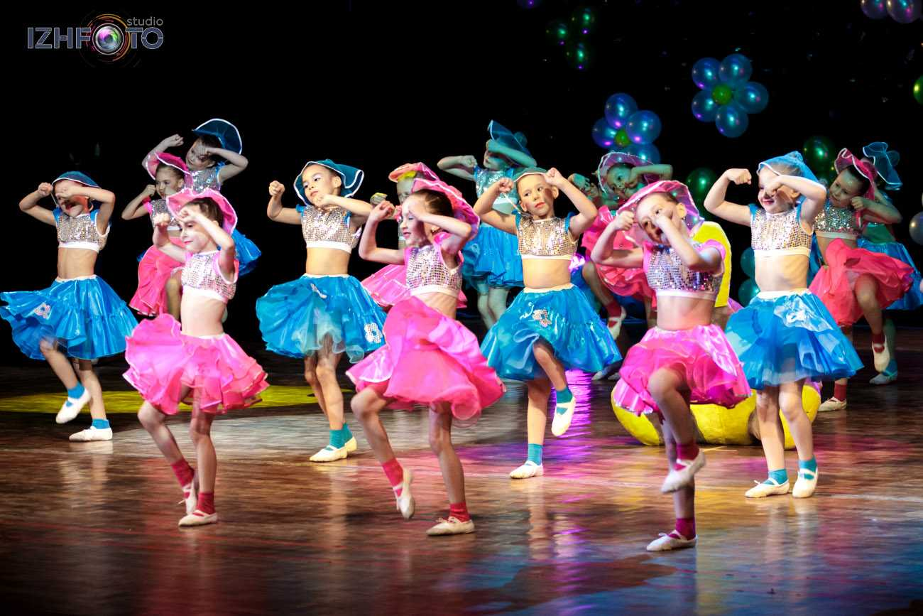 Подрастающее поколение талантливых танцоров