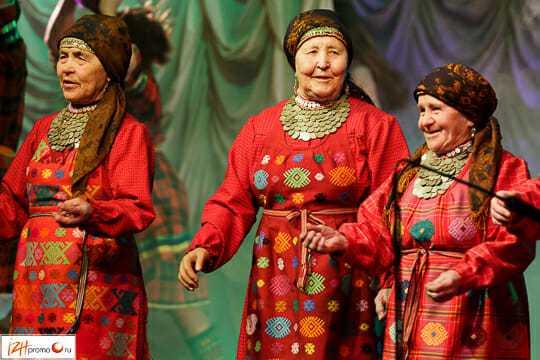 Бурановские бабушки: фото с выступления