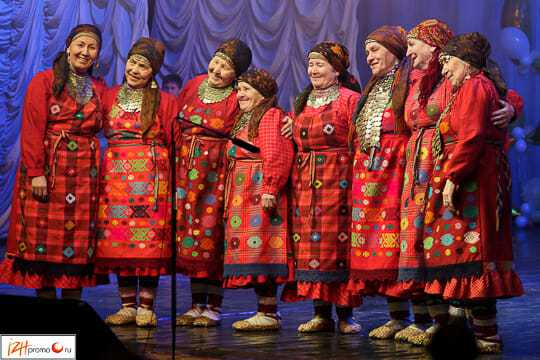 Песни Бурановских бабушек на русском