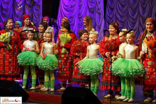 Бурановские бабушки и ансамбль Чингыли, Ижевск