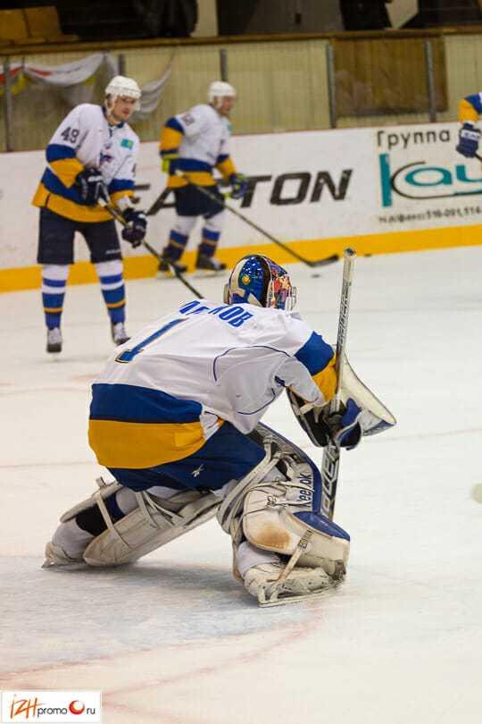 Хоккейный матч Ижсталь - Казцинк