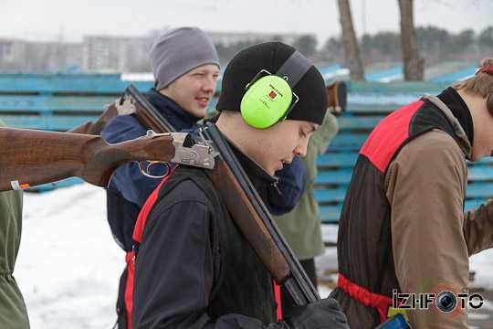 соревнования по стендовой стрельбе, Ижевск