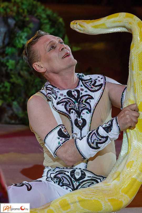 Сергей Таранух, лауреат фестивалей артистов цирка
