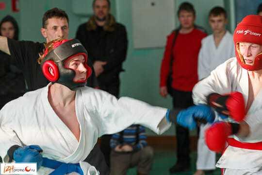 Рукопашный бой в Ижевске Фото