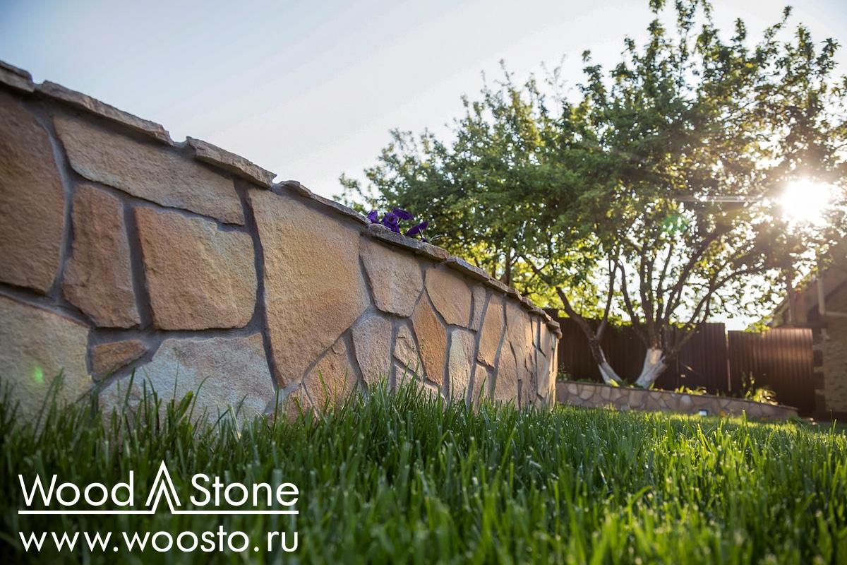 Облицовка подпорных стенок натуральным камнем Ижевск